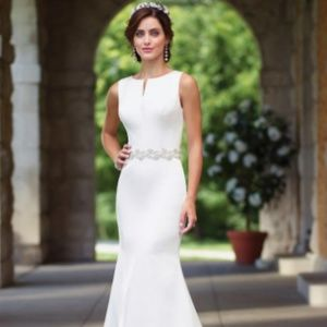 Stunning Satin Bridal Gown